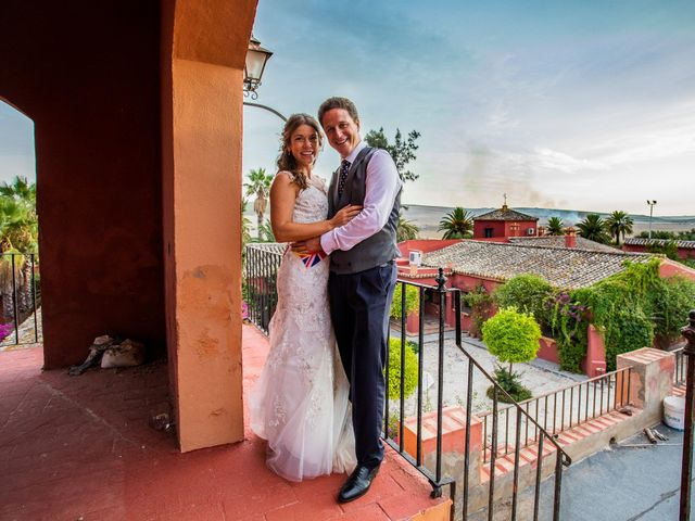 La boda de Bridie y Rafa