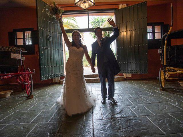 La boda de Rafa y Bridie en Jerez De La Frontera, Cádiz 34