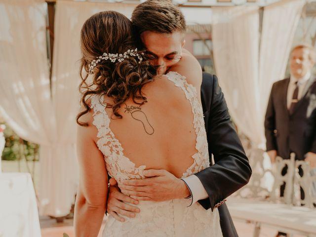 La boda de Xavier y Isabel en Santa Cristina D'aro, Girona 25