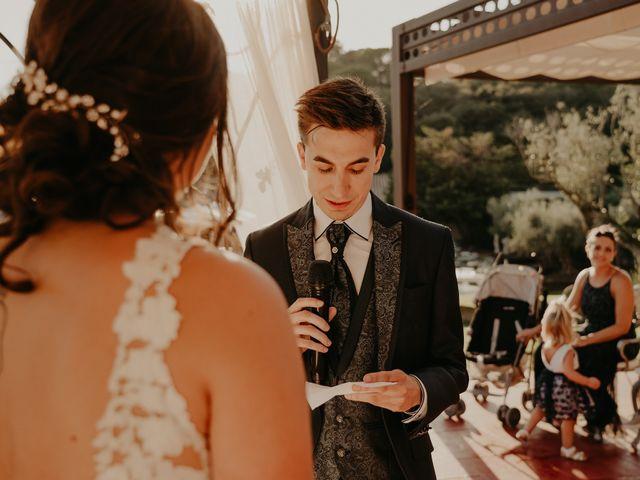 La boda de Xavier y Isabel en Santa Cristina D'aro, Girona 27