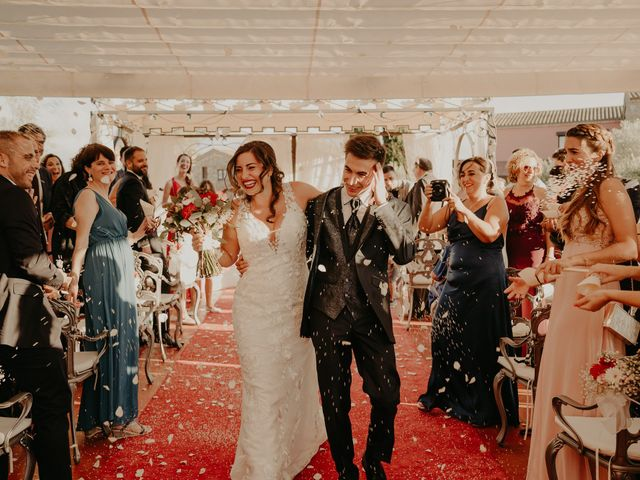 La boda de Xavier y Isabel en Santa Cristina D'aro, Girona 29