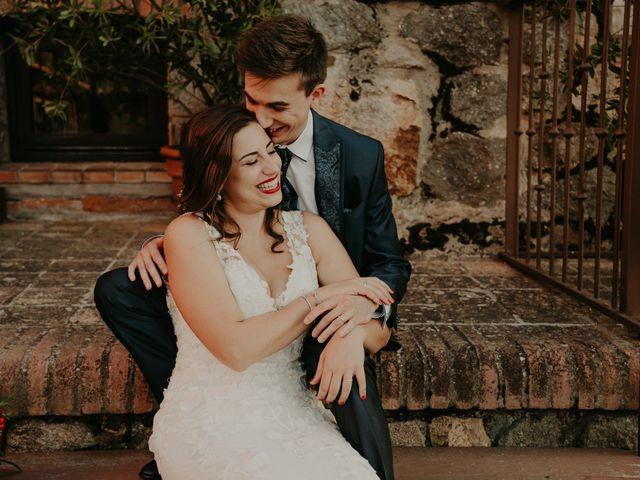 La boda de Xavier y Isabel en Santa Cristina D'aro, Girona 33