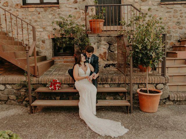 La boda de Xavier y Isabel en Santa Cristina D'aro, Girona 34