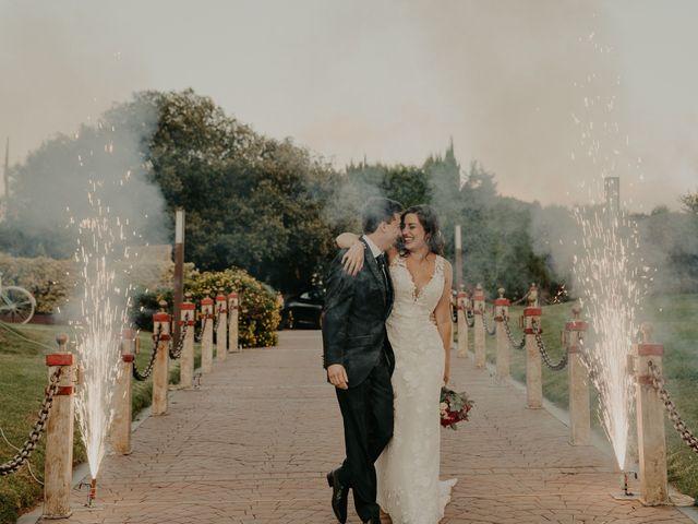La boda de Xavier y Isabel en Santa Cristina D'aro, Girona 38