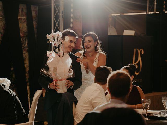 La boda de Xavier y Isabel en Santa Cristina D'aro, Girona 46