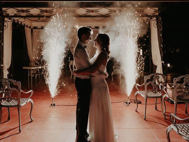 La boda de Xavier y Isabel en Santa Cristina D'aro, Girona 57