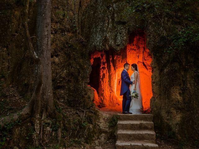 La boda de Mariano y Paula
