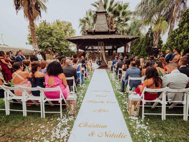 La boda de Christian y Natalie en Torre Del Mar, Málaga 51