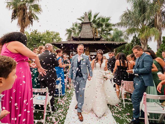 La boda de Christian y Natalie en Torre Del Mar, Málaga 54