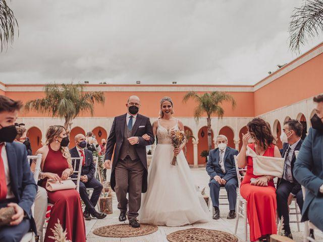 La boda de Javi y Cristina  en Sevilla, Sevilla 21