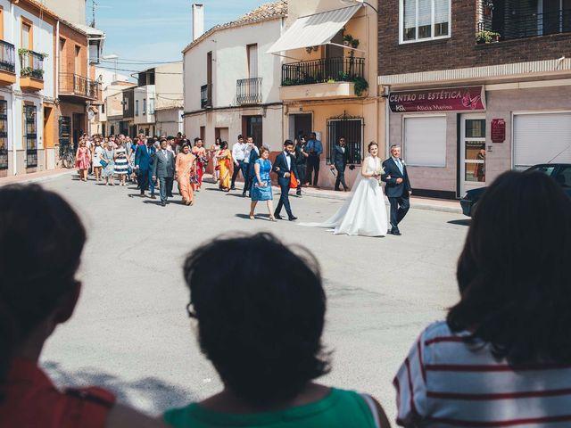 La boda de Mohit y Virginia en Villagarcia Del Llano, Cuenca 1