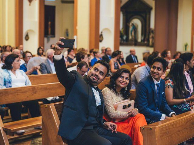 La boda de Mohit y Virginia en Villagarcia Del Llano, Cuenca 5