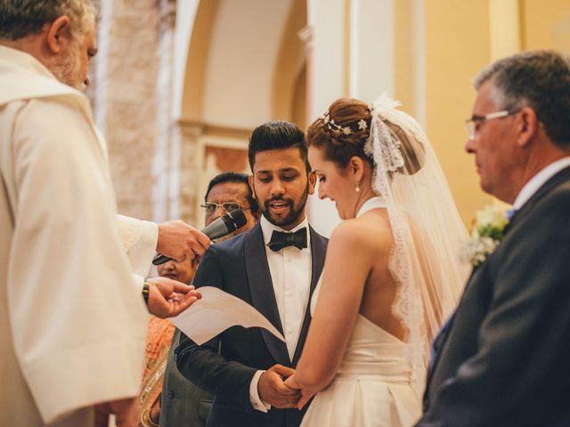 La boda de Mohit y Virginia en Villagarcia Del Llano, Cuenca 7