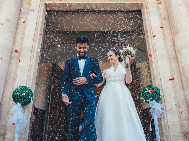 La boda de Mohit y Virginia en Villagarcia Del Llano, Cuenca 12