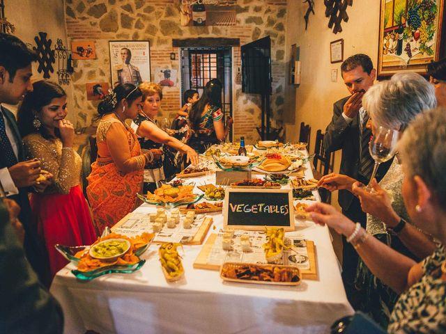 La boda de Mohit y Virginia en Villagarcia Del Llano, Cuenca 21