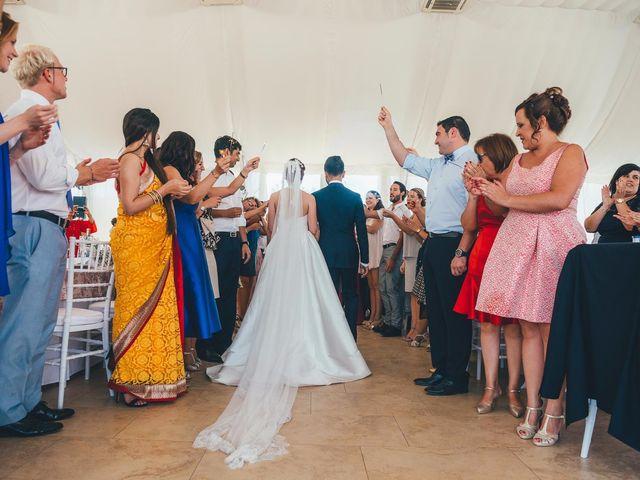 La boda de Mohit y Virginia en Villagarcia Del Llano, Cuenca 27
