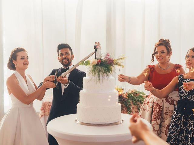 La boda de Mohit y Virginia en Villagarcia Del Llano, Cuenca 48
