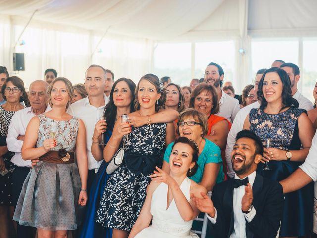 La boda de Mohit y Virginia en Villagarcia Del Llano, Cuenca 52