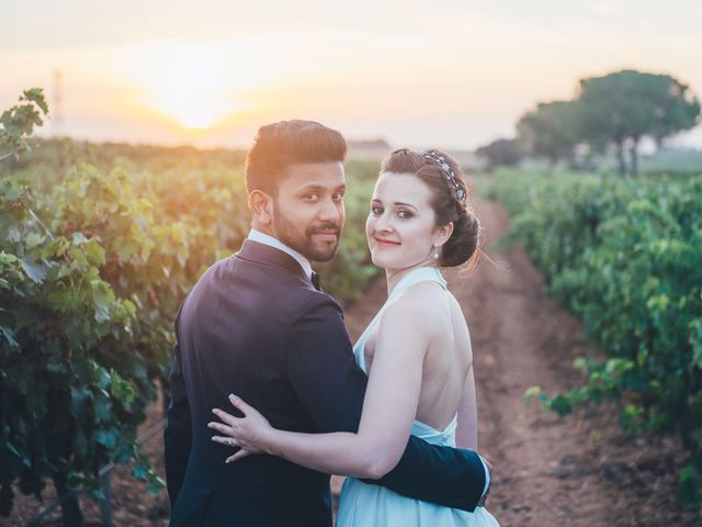 La boda de Mohit y Virginia en Villagarcia Del Llano, Cuenca 56
