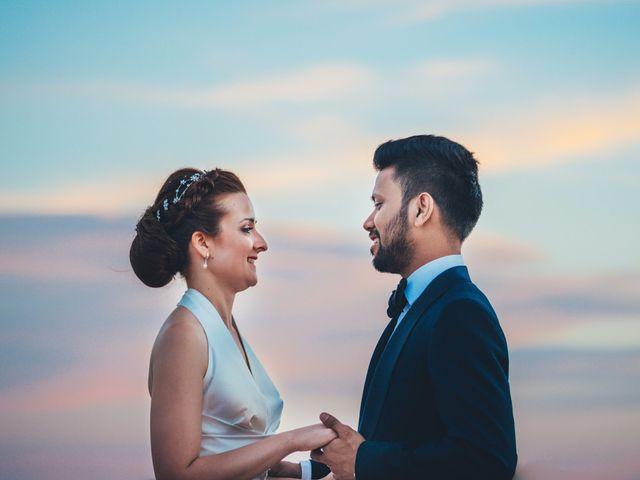 La boda de Mohit y Virginia en Villagarcia Del Llano, Cuenca 58