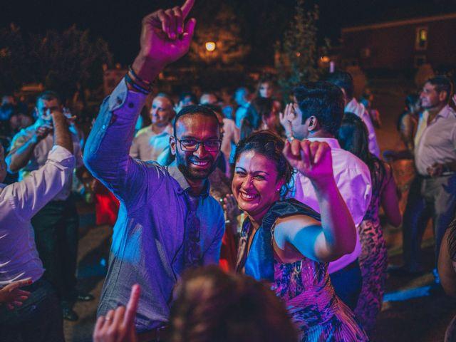 La boda de Mohit y Virginia en Villagarcia Del Llano, Cuenca 79