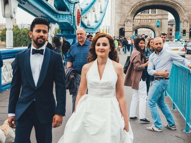 La boda de Mohit y Virginia en Villagarcia Del Llano, Cuenca 108