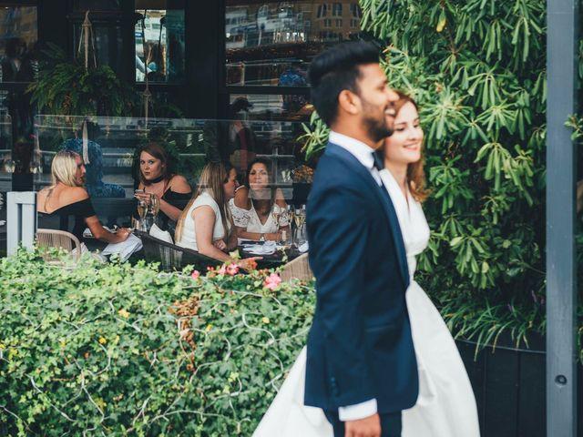 La boda de Mohit y Virginia en Villagarcia Del Llano, Cuenca 114