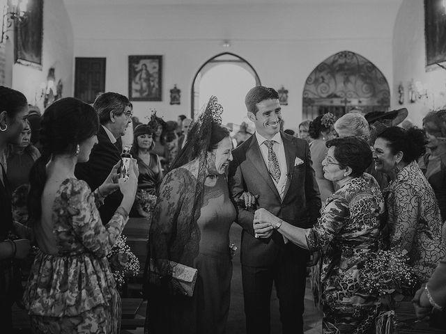 La boda de Alejandro y Alba en La Puebla Del Rio, Sevilla 24