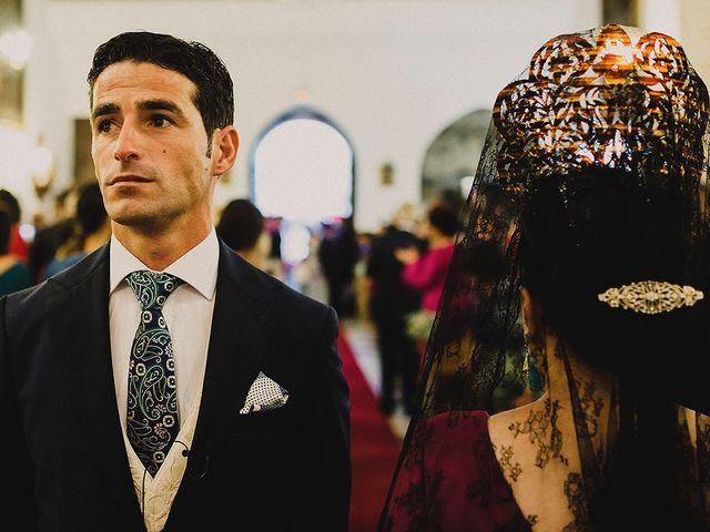 La boda de Alejandro y Alba en La Puebla Del Rio, Sevilla 28
