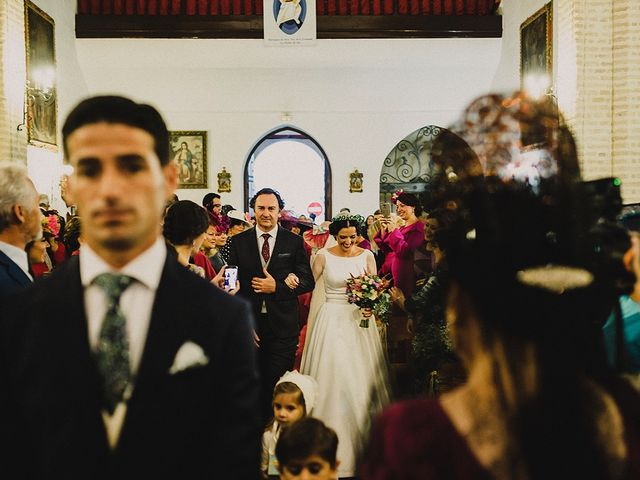 La boda de Alejandro y Alba en La Puebla Del Rio, Sevilla 29