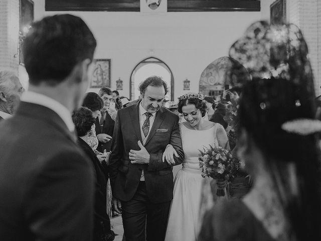 La boda de Alejandro y Alba en La Puebla Del Rio, Sevilla 30