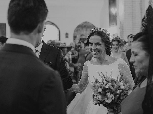 La boda de Alejandro y Alba en La Puebla Del Rio, Sevilla 31