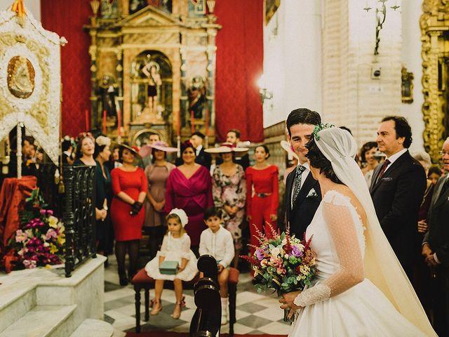 La boda de Alejandro y Alba en La Puebla Del Rio, Sevilla 32
