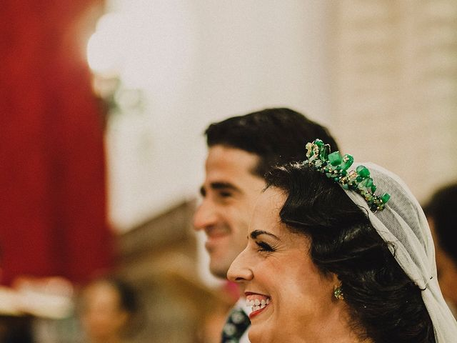 La boda de Alejandro y Alba en La Puebla Del Rio, Sevilla 33