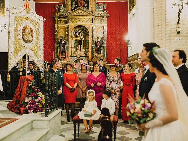 La boda de Alejandro y Alba en La Puebla Del Rio, Sevilla 34
