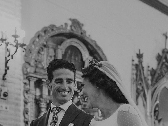 La boda de Alejandro y Alba en La Puebla Del Rio, Sevilla 38