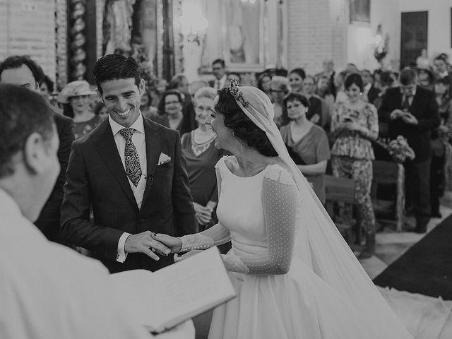 La boda de Alejandro y Alba en La Puebla Del Rio, Sevilla 39