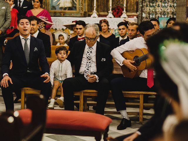 La boda de Alejandro y Alba en La Puebla Del Rio, Sevilla 42