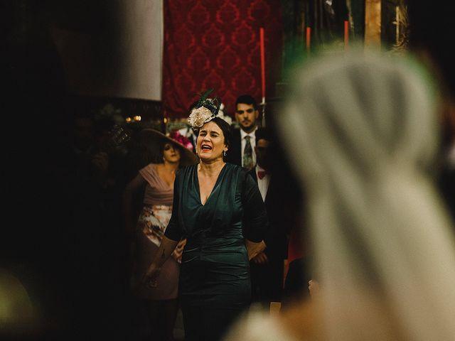 La boda de Alejandro y Alba en La Puebla Del Rio, Sevilla 44