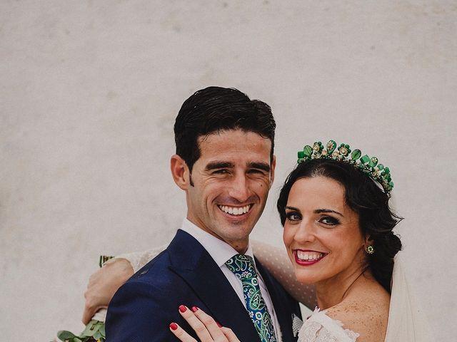 La boda de Alejandro y Alba en La Puebla Del Rio, Sevilla 49