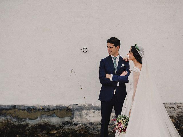 La boda de Alejandro y Alba en La Puebla Del Rio, Sevilla 50