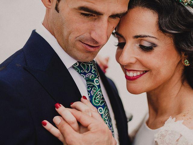La boda de Alejandro y Alba en La Puebla Del Rio, Sevilla 51