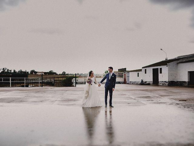 La boda de Alejandro y Alba en La Puebla Del Rio, Sevilla 57