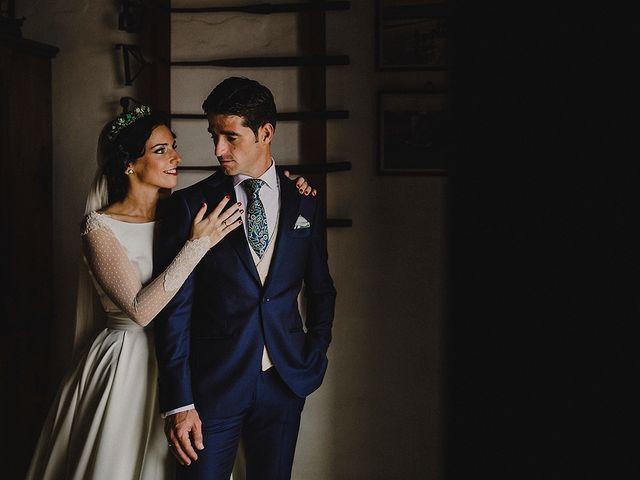 La boda de Alejandro y Alba en La Puebla Del Rio, Sevilla 1