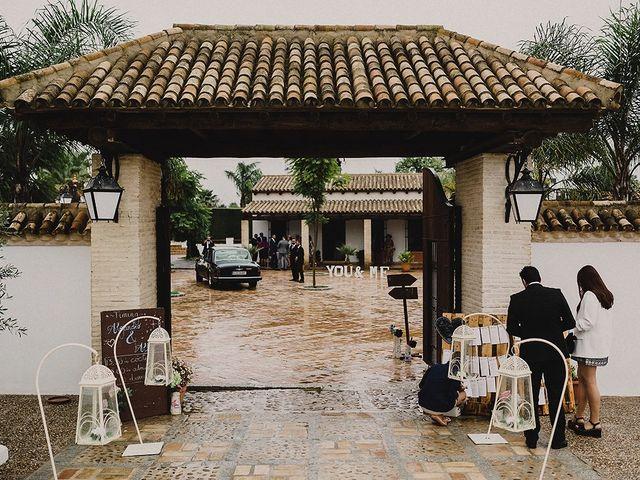 La boda de Alejandro y Alba en La Puebla Del Rio, Sevilla 68