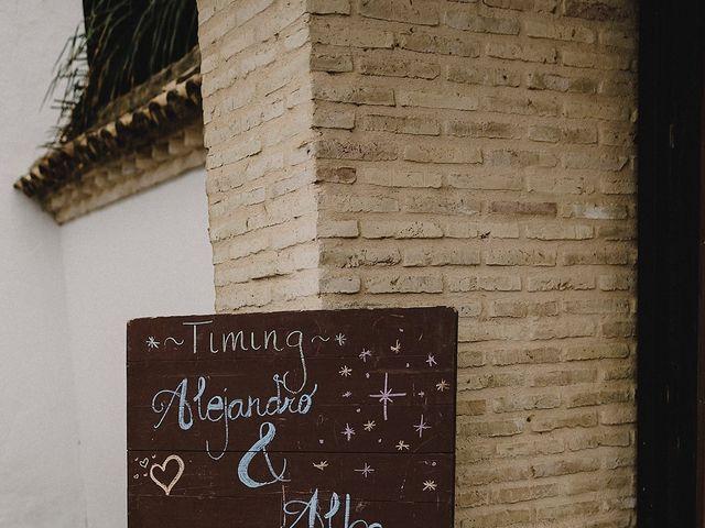 La boda de Alejandro y Alba en La Puebla Del Rio, Sevilla 71