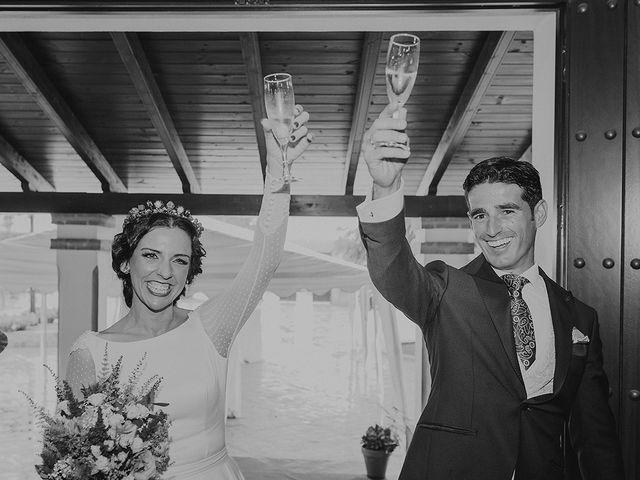 La boda de Alejandro y Alba en La Puebla Del Rio, Sevilla 80