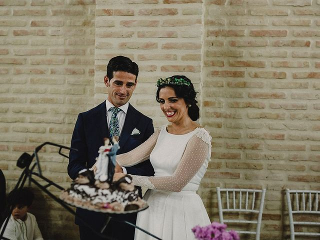 La boda de Alejandro y Alba en La Puebla Del Rio, Sevilla 82