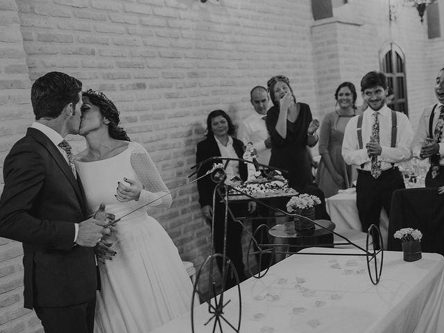 La boda de Alejandro y Alba en La Puebla Del Rio, Sevilla 83