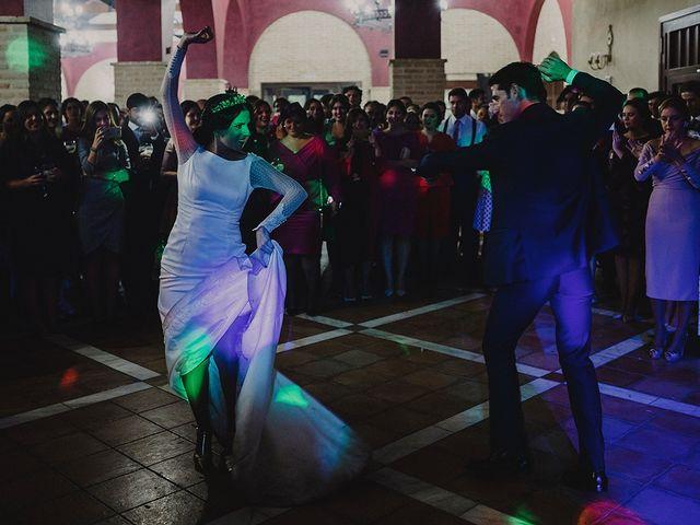 La boda de Alejandro y Alba en La Puebla Del Rio, Sevilla 88